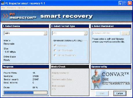 Programa gratuito para recuperar fotos perdidas de tu tarjeta de memoria