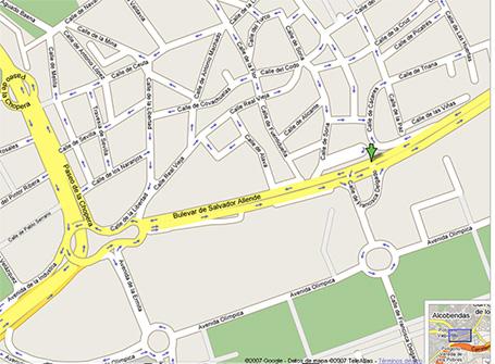 Mapa exposición