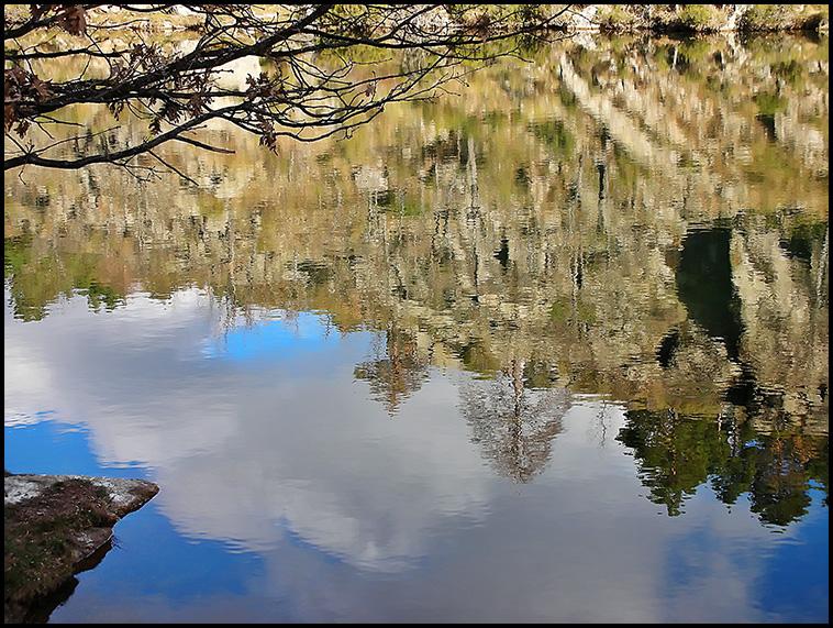 Imagen realizada en una ruta de senderismo en Rascafría madrid