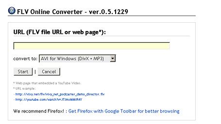 video digital, programitas: FLV Converter Online convierte .flv a otros formatos