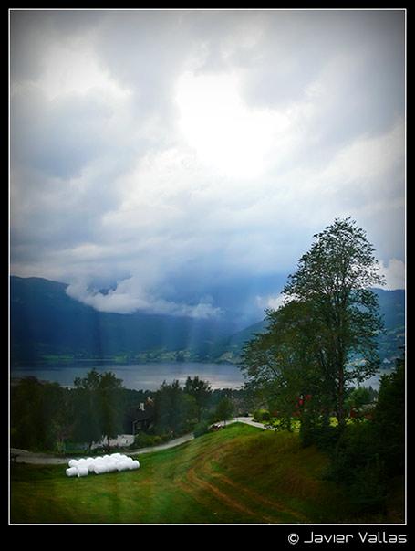 Fotografía digital: Fiordo Sogne (sueños), Voss