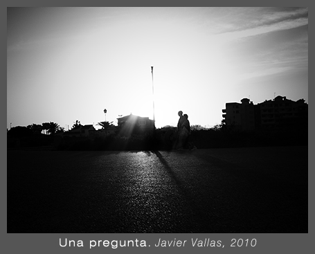 Una pregunta. Javier Vallas