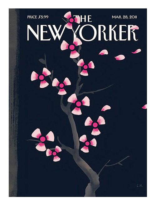 portada dark spring Christopher Niemann sobre el desastre nuclear en Japón.