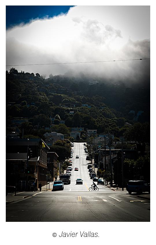 Fotografía tomado en el pueblo Sausalito (California), por Javier Vallas