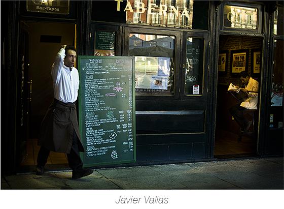 Fotografía de una taberna de la Plaza Mayor de Madrid (España)