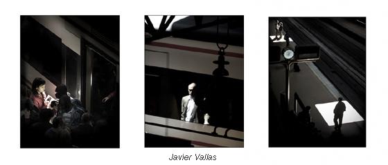 Serie fotográfica; Atocha 14:30, silencio en hora punta, por Javier Vallas
